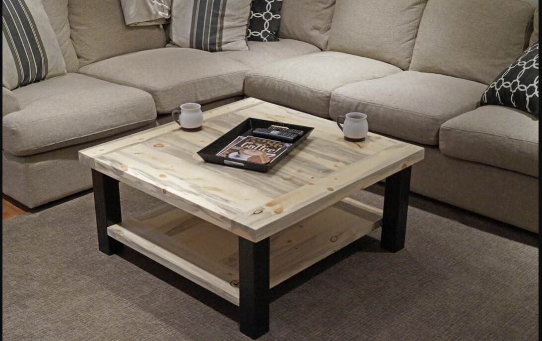 The Lead King Beetle Kill Coffee Table