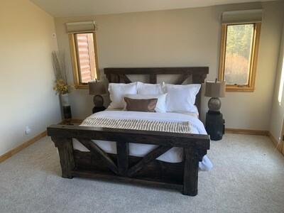 The Breckenridge Beetle Kill King Bed