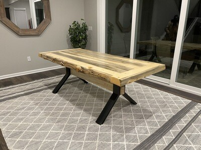 Granby Beetle Kill Dining Table