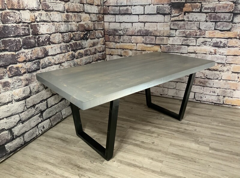 Pike Beetle Pine Dining Table