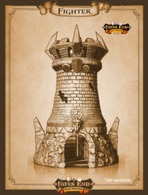 Fighter Dice Tower