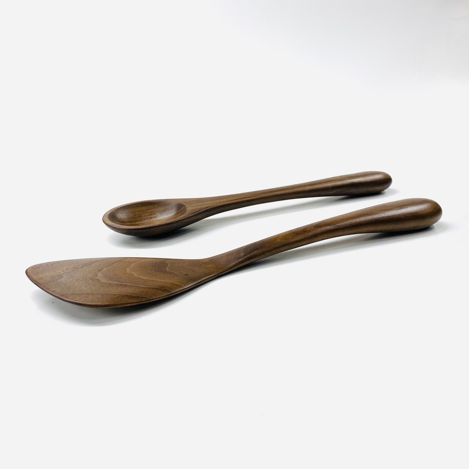 Natural Walnut Cooking Spoon And Spatula