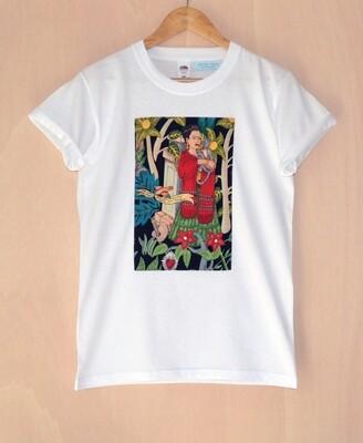 Camiseta Frida Unisex