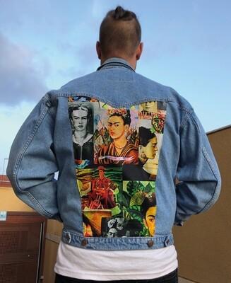 Cazadora pinturas de Frida