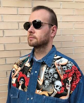 Camisa custom Catrinas