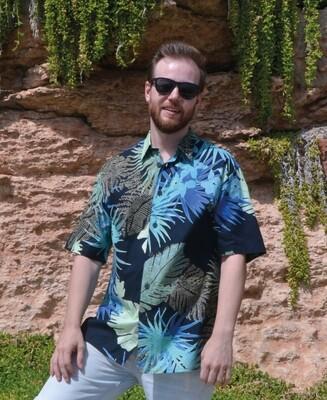 Camisa Deep Garden