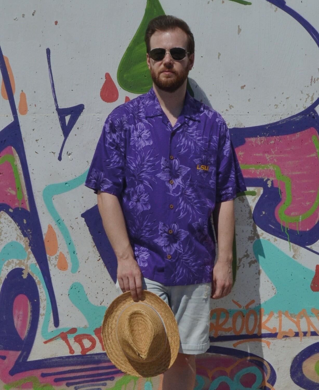 Camisa Purple Beach