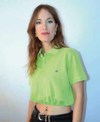 Polo crop reworked Tommy Green