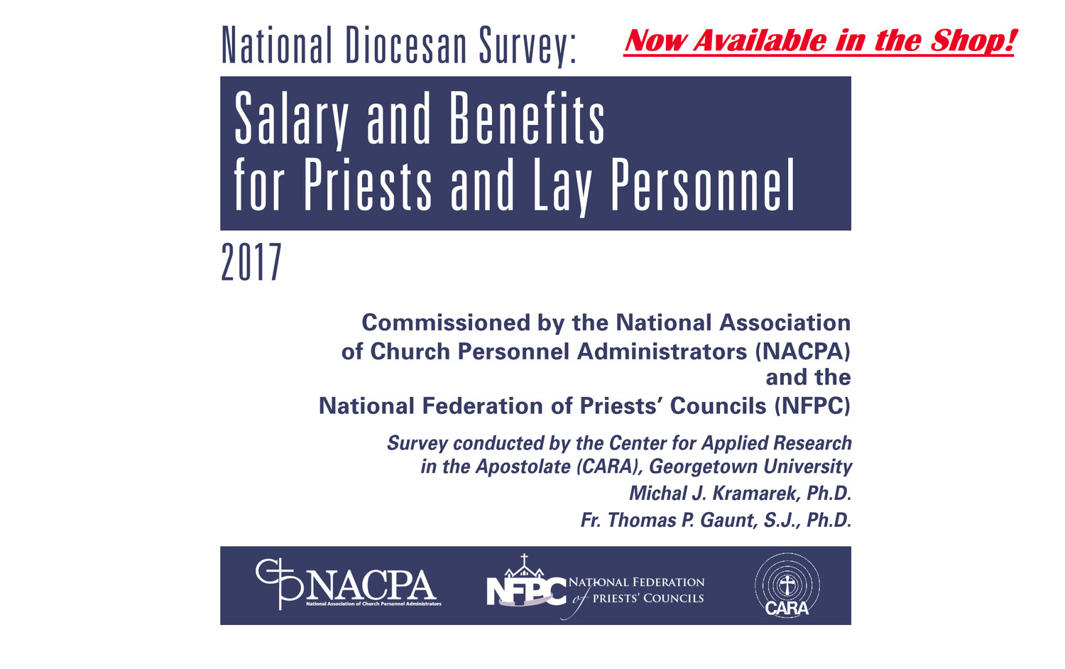 2017 National Diocesan Survey: Salary and Benefits for Priests and Lay Personnel PDF