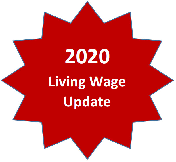 2020 Living Wage Update *Members Please login at nacpa.org for complimentary version*