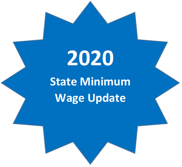 2020 State Minimum Wage Update *Members Please login at nacpa.org for complimentary version*