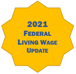 2021 Living Wage Update *Members Please login at nacpa.org for complimentary version*
