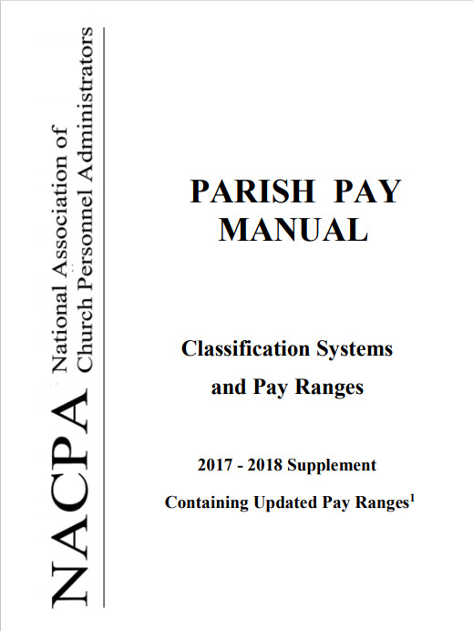 Parish Pay 2017_2018 Updated Pay Supplement to the full Parish Pay Manual.