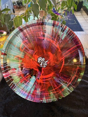 Be Lot Rolling Tray- Spin Art