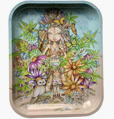 Large Tin Rolling Tray - Indian Giver
