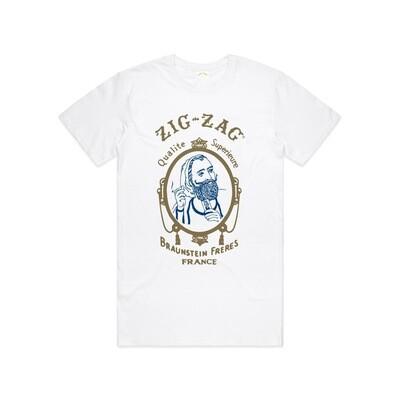 Zig-Zag Classic T-Shirt - White