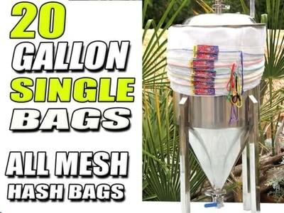 Wacky Bags- Single 20 gallon: 220 micron Bubble Hash Filter Bag