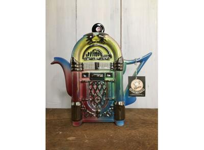 The Tea Pottery- Limited Edition: Jukebox Shaped Tea Pot