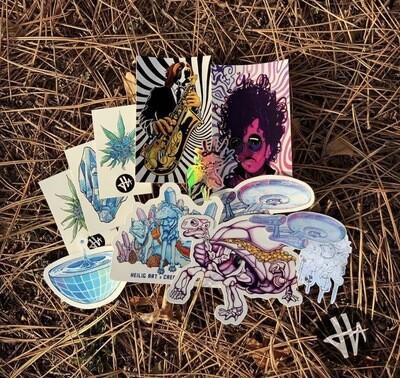 Mixed Dozen Sticker Pack