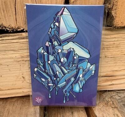 Heilig Art: Crystal #3- 5pk Postcards