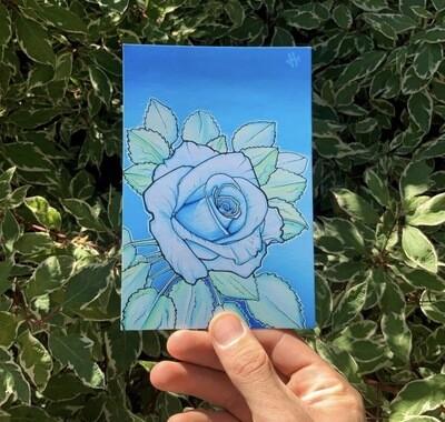 Heilig Art: Rose- 5pk Postcards