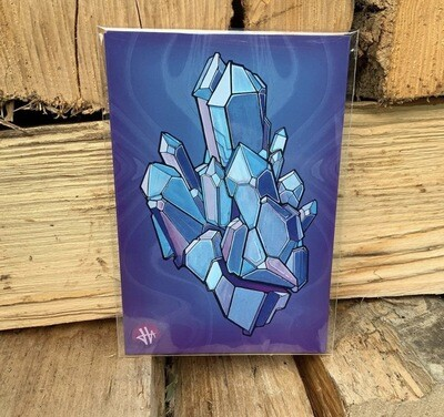Heilig Art: Crystal #1- 5pk Postcards