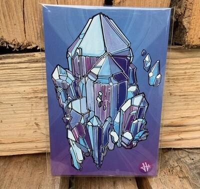 Heilig Art: Crystal #4- 5pk Postcards