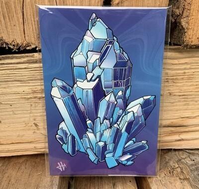 Heilig Art: Crystal #2- 5pk Postcards