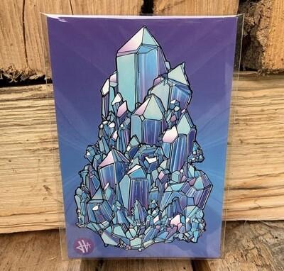 Heilig Art: Crystal #5- 5pk Postcards