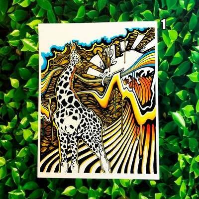 Heilig Art: Giranda (AKA Exhale) 13x19