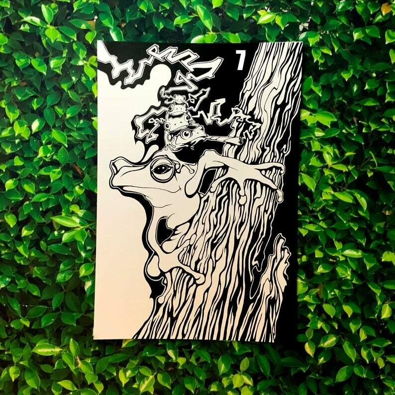 "Heilig Art: ""Sticky Fingers"" 13x19"" Print"
