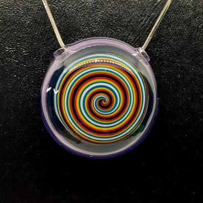 Color Swirl Pendant