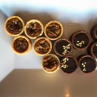 1 Dozen Mini-Tarts (Chocolate Caramel)
