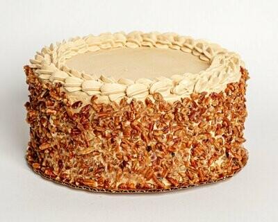 Brown Sugar Pecan Cake