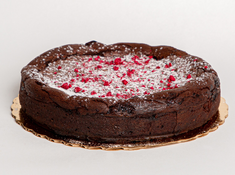 Chocolate Flourless Cake | Gluten-Free
