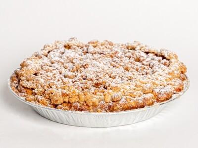 Dutch Apple Crumble Pie