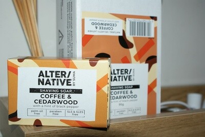 Shaving Bar - Coffee and Cedarwood by Alter/Native