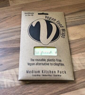 Vegan Food Wrap - Medium Kitchen Pack