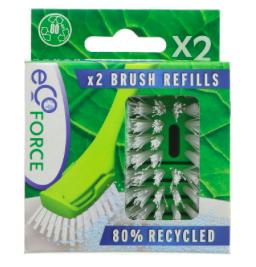 Dish Brush Refills x 2