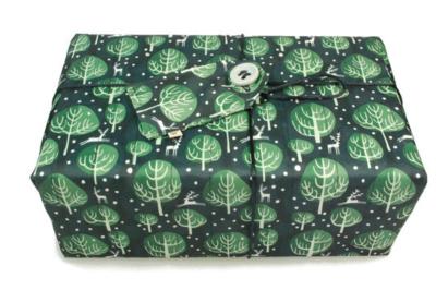 Large Crackle Wrap - Midnight Blue - (70 x 70cm)