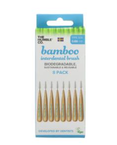 Bamboo Interdental Brush - 8 pack