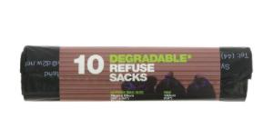Degradable Refuse Sack x 10 per roll