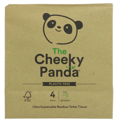 Plastic Free Bamboo Toilet Roll