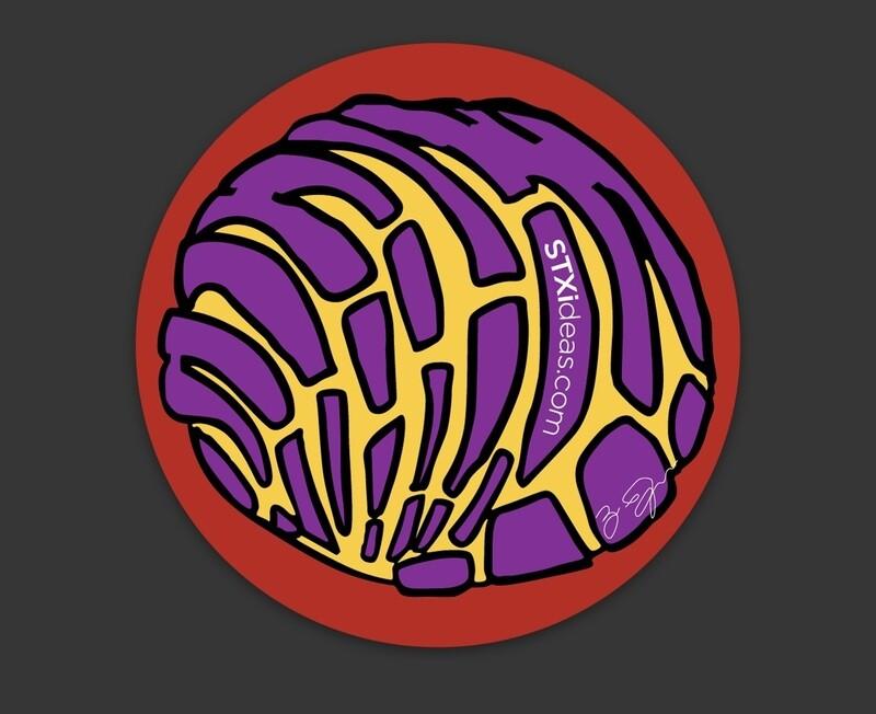 Concha Sticker