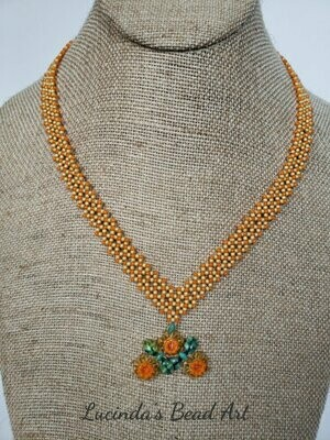 Tangerine Dreams Necklace Set