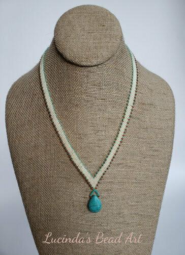 Turquoise Magnesite Pendant Necklace