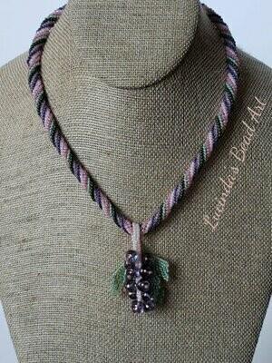 Wild Rose Impression Necklace