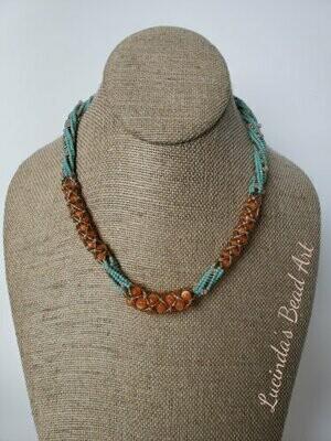 Double Weave Necklace
