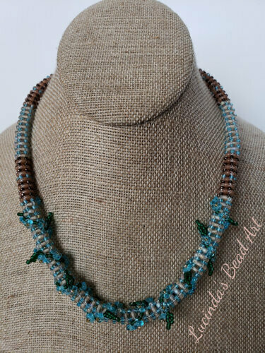 Blue Vine Necklace