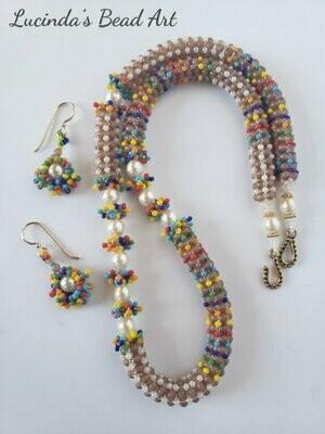 Celebration Time or Sprinkles Necklace Set